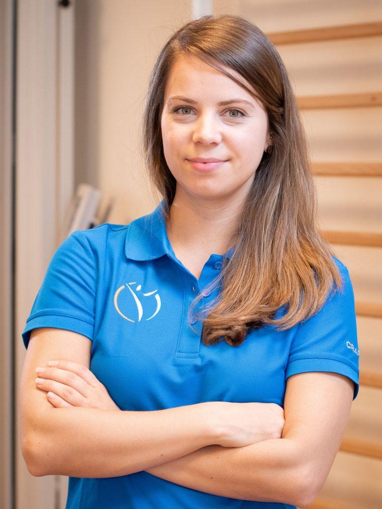 Gesundheitsmanagerin Vanessa Pfuhl