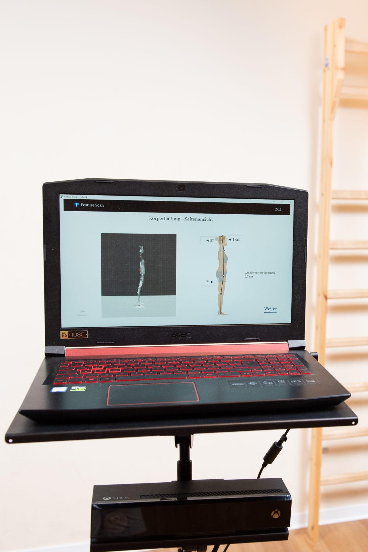 3D Bewegungs- und Haltungsanalyse